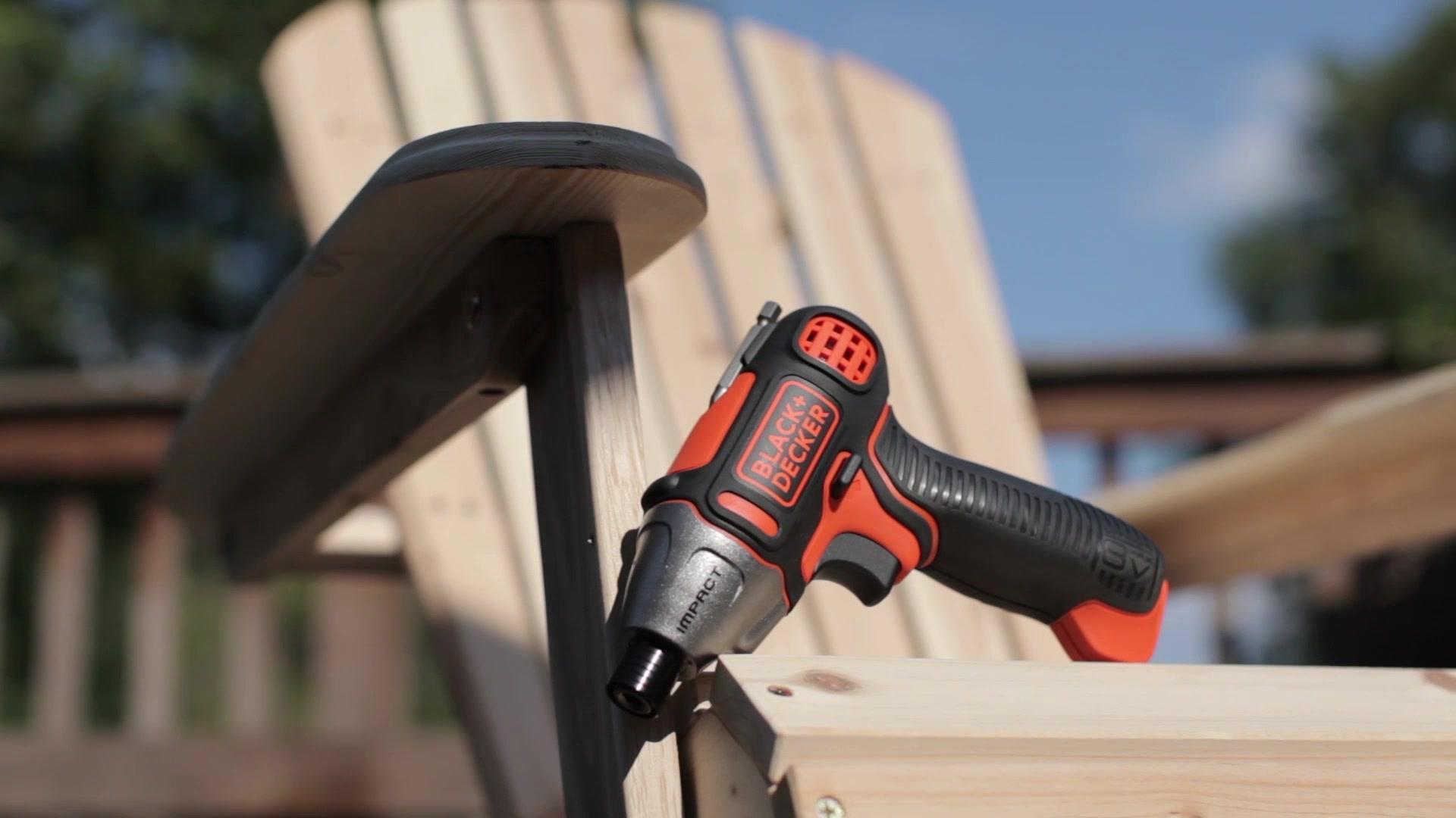 The 8V MAX* Impact Screwdriver | BLACK+DECKER