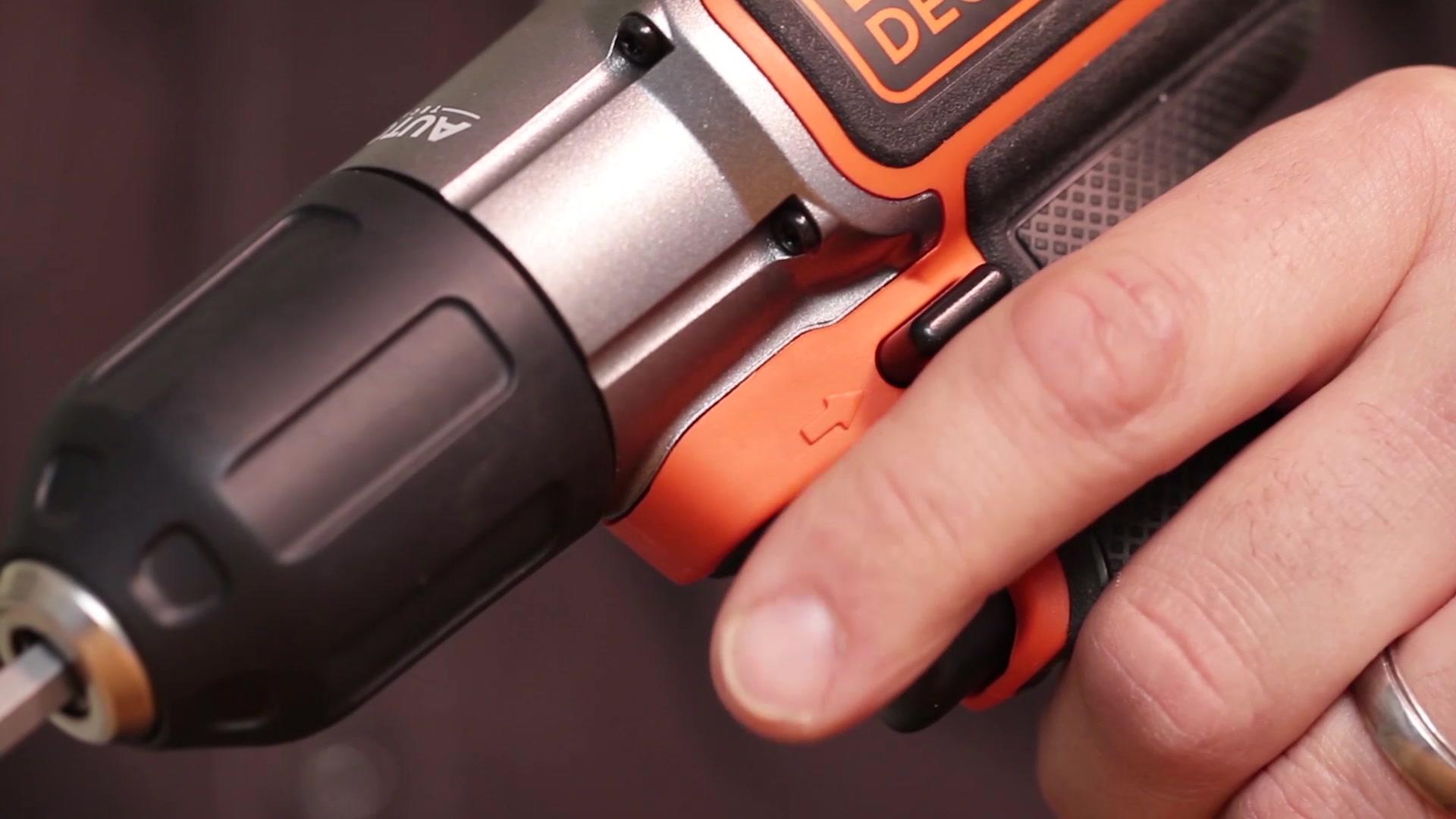 The 20V MAX* Cordless Drill with AutoSense™ Technology | BLACK+DECKER