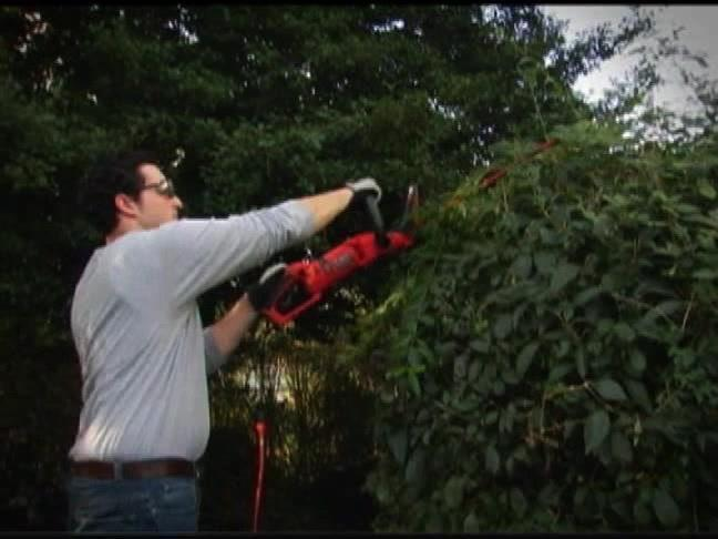The 24 in. Hedge Trimmer With Rotating Handle    BLACK+DECKER